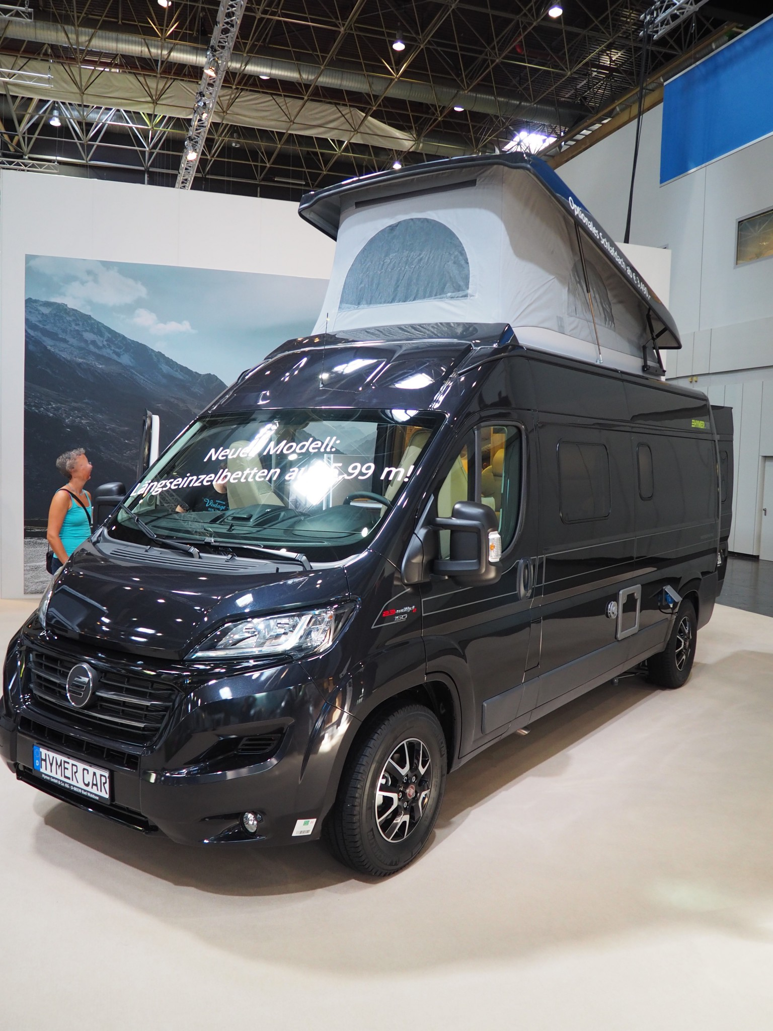 caravan salon hymercar yosemite familienurlaub im kastenwagen campingbus kastenwagen. Black Bedroom Furniture Sets. Home Design Ideas